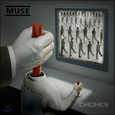 Muse - Drones (CD+DVD 디럭스 소프트팩 한정반) (뮤즈 새 앨범 정규 7집)
