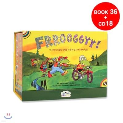 [54종 구성] 프로기 Froggy 원서 18종 박스 세트 (사은품 18종 CD & 워크북 18종 포함)