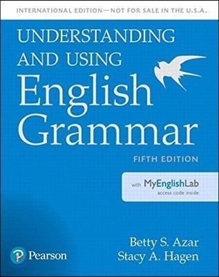 Understanding and Using English Grammar, SB with MyLab English - International Edition