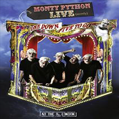 Monty Python Live (Mostly): One Down Five To Go (몬티 파이튼 라이브: 원 다운 파이브 투 고)(지역코드1)(한글무자막)(DVD)