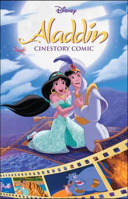 디즈니 시네스토리 코믹 : 알라딘 Disney's Aladdin Cinestory Comic