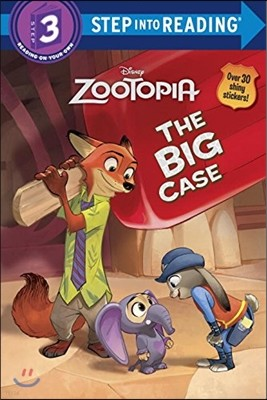 Zootopia Deluxe Step into Reading #2 : The Big Case