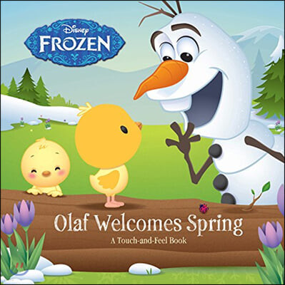 Frozen Olaf Welcomes Spring (촉감책)