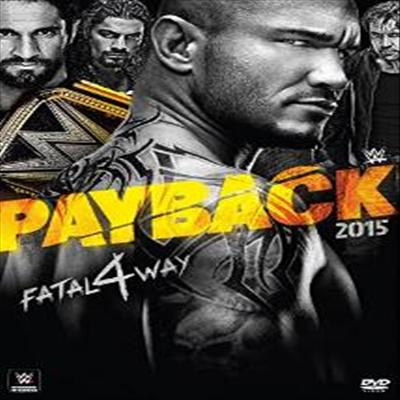 WWE: Payback 2015 (WWE: 페이백 2015)(지역코드1)(한글무자막)(DVD)