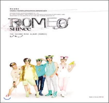 [중고] 샤이니 (Shinee) / The Second Mini Album [Romeo] (digipack)