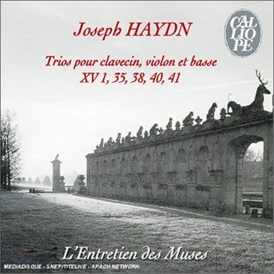 하이든 : 클라브생, 바이올린, 바세를 위한 트리오 XV 1, 35, 35, 40, 41