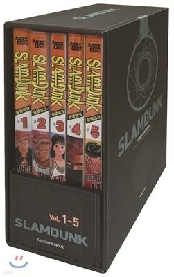 슬램덩크 오리지널 판 1-5 박스세트