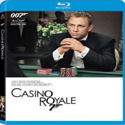 Casino Royale (007 카지노 로얄)(한글무자막)(Blu-ray)
