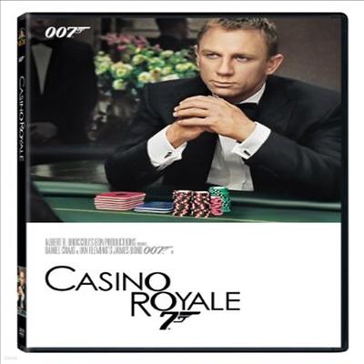 Casino Royale (007 카지노 로얄)(지역코드1)(한글무자막)(DVD)
