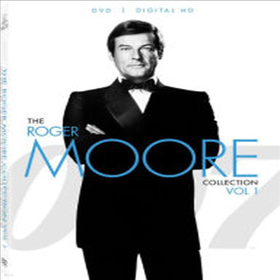 007 The Roger Moore Collection Vol.1 (007 더 로저 무어 컬렉션 볼륨 1)(지역코드1)(한글무자막)(DVD)