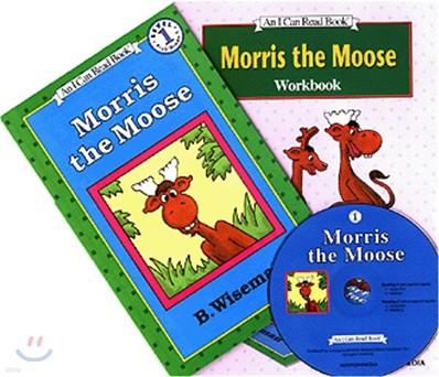 [I Can Read] Level 1-02 : Morris the Moose (Workbook Set)
