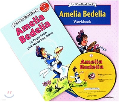 [I Can Read] Level 2-01 : Amelia Bedelia (Workbook Set)