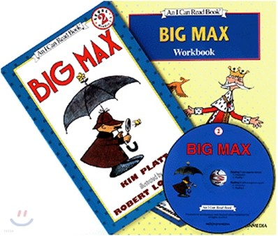 [I Can Read] Level 2-02 : Big Max (Workbook Set)