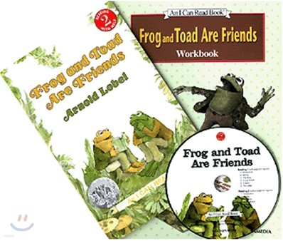 [I Can Read] Level 2-06 : Frog and Toad Are Friends (Workbook Set)