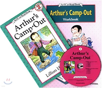 [I Can Read] Level 2-05 : Arthur's Camp-Out (Workbook Set)