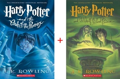 Harry Potter and the Order of the Phoenix + Half-Blood Prince (2권 Set)