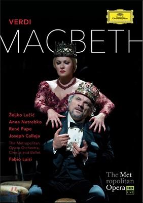Anna Netrebko / Fabio Luisi 베르디: 맥베스 (Verdi: Macbeth)
