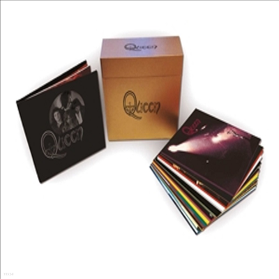 Queen - Studio Collection (Remastered)(180g Colored 18LP)(Digital Download Card)(Box Set)