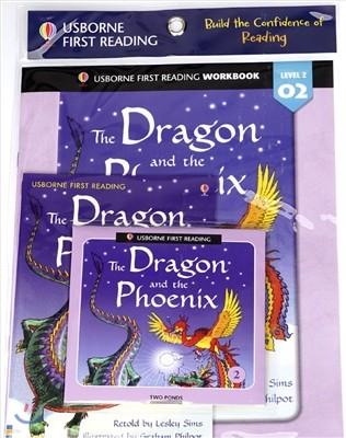 Usborne First Reading Workbook Set 2-2 : The Dragon and the Phoenix