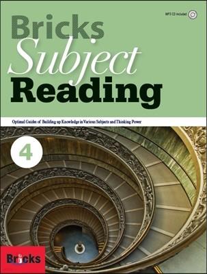 Bricks Subject Reading 4 SB
