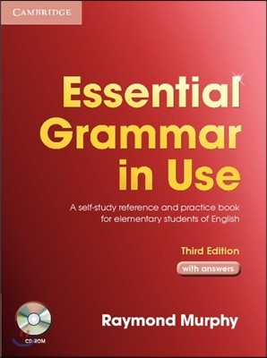 Essential Grammar in Use with Answers with CD-ROM 3/E
