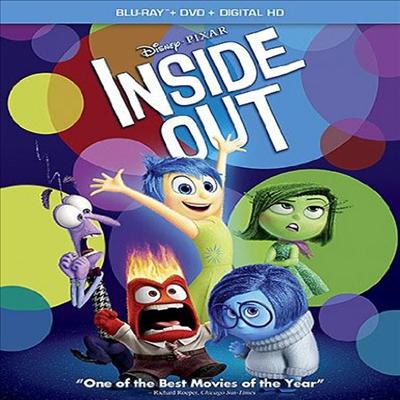 Inside Out (인사이드 아웃)(한글무자막)(Blu-ray)