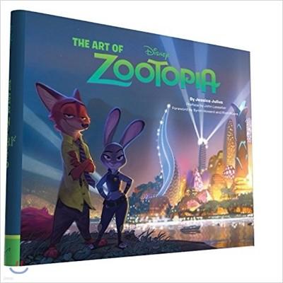 The Art of Zootopia 디즈니 주토피아 공식 컨셉 아트북