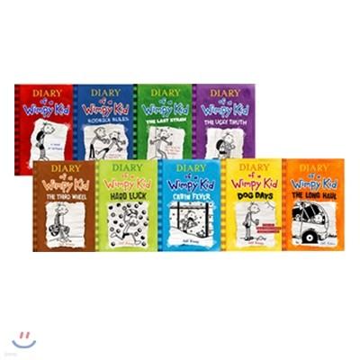 Diary of a Wimpy Kid 윔피 키드 1~9권 세트 (박스 미포함)