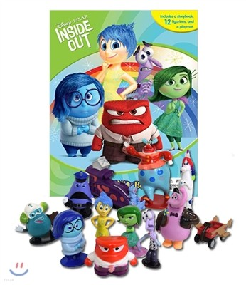 Disney Pixar Inside Out My Busy Book 디즈니 비지북 픽사 인사이드 아웃 피규어 책