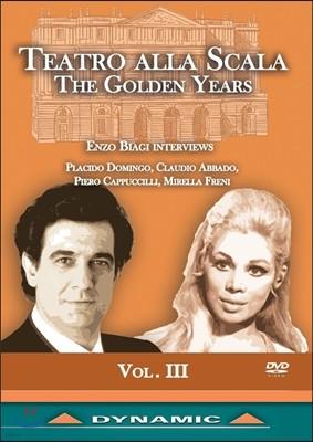 Placido Domingo / Mirella Freni 테아트로 알라 스칼라의 황금시대 3집 (Teatro Alla Scala: The Golden Years Vol.III)
