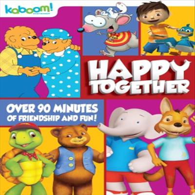Kaboom Collection: Happy Together (해피 투게더)(지역코드1)(한글무자막)(DVD)