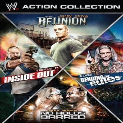 WWE Action Collection: Inside Out / The Reunion / Bending The Rules / No Holds Barred (인사이드 아웃 / 더 리유니언 / 벤딩 더 룰스 / 죽느냐 사느냐)(지역코드1)(한글무자막)(DVD)