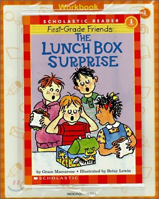 Scholastic Hello Reader Level 1-28 : The Lunch Box Surprise (Book+CD+Workbook Set)