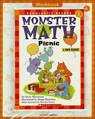 Scholastic Hello Reader Level 1-27 : Monster Math Picnic (Book+CD+Workbook Set)