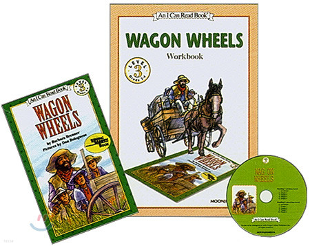 [I Can Read] Level 3-07 : Wagon Wheels (Workbook Set)