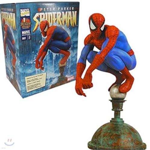 스파이더맨 : Marvel Milestones Spider-Man Flagpole Statue