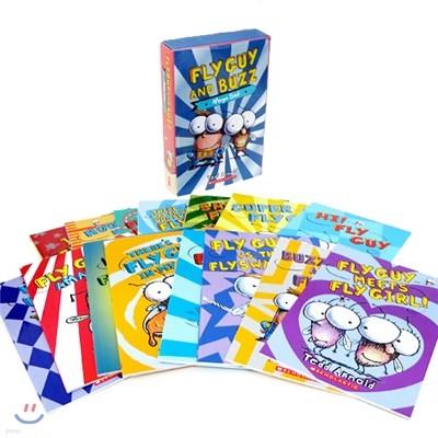 플라이 가이 원서 페이퍼백 15권 세트 (CD 미포함) : Fly Guy and Buzz Mega 15 Books Set
