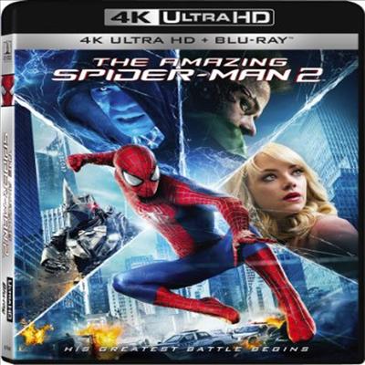 The Amazing Spider-Man 2 (어메이징 스파이더맨 2) (한글무자막)(4K Ultra HD + Blu-ray)