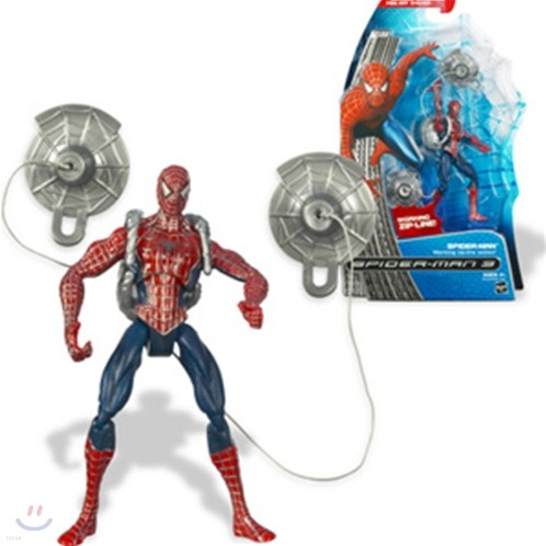스파이더맨 : Spider man Zip Line Figure