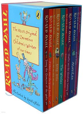 Roald Dahl 10 Copy Boxed Set
