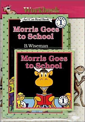 [I Can Read] Level 1-12 : Morris Goes to School (Workbook Set)