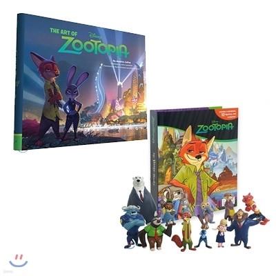 Disney Zootopia My Busy Book + The Art of Zootopia