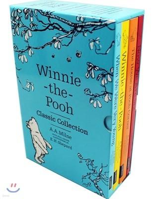 위니 더 푸 원서 클래식 컬렉션 4종 박스 세트 (올컬러) : Winnie-the-Pooh Classic Collection