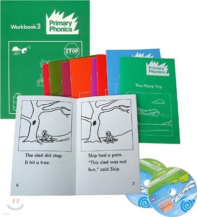 Primary Phonics 3 Set (Book+Workbook+Audio CD)