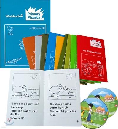 Primary Phonics 4 Set (Book+Workbook+Audio CD)