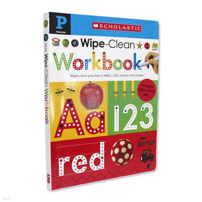 [스크래치 특가]Scholastic Early Learners: Wipe Clean Workbook (Pre-school)