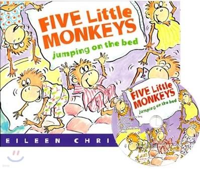 [노부영]Five Little Monkeys Jumping on the Bed (원서 & 노부영 부록 CD)