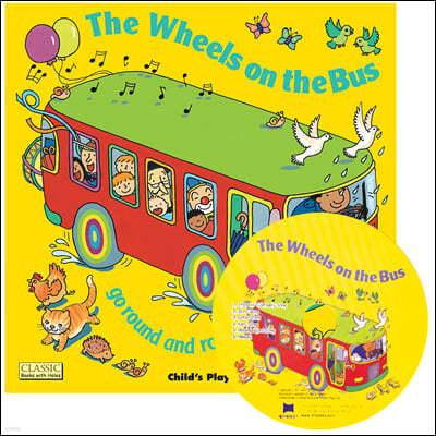 [노부영 마더구스 세이펜] The Wheels on the Bus (원서 & 노부영 부록 CD)