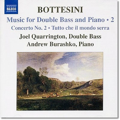 James Campbell 보테시니: 더블베이스와 피아노를 위한 작품 2집 (Giovanni Bottesini: Music for Double bass and Piano Vol. 2)