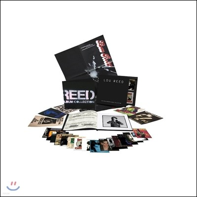Lou Reed (루 리드) - The RCA & Arista Albums Collection 1972-1986 [17CD Box Set]